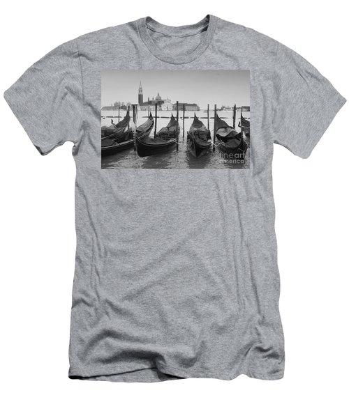 Venice Gondolas Men's T-Shirt (Athletic Fit)
