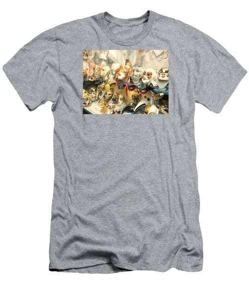 Venice Masks Men's T-Shirt (Slim Fit) by Lisa Boyd