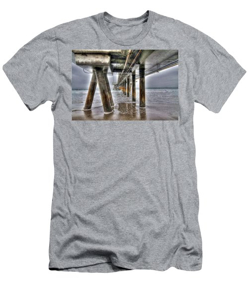 Venice Pier Industrial Men's T-Shirt (Athletic Fit)