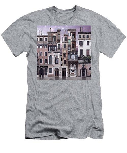 Venice Reconstruction 1 Men's T-Shirt (Slim Fit)