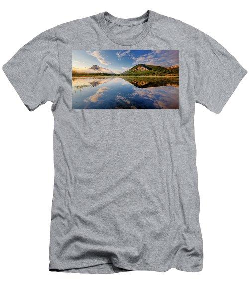 Vermilion Reflections Men's T-Shirt (Athletic Fit)