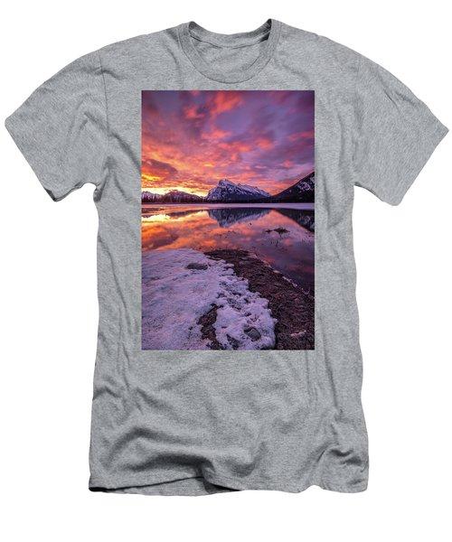 Vermillion Splendour Men's T-Shirt (Athletic Fit)