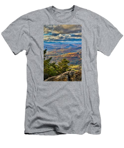 Vermont Foliage From Mt. Ascutney Men's T-Shirt (Athletic Fit)