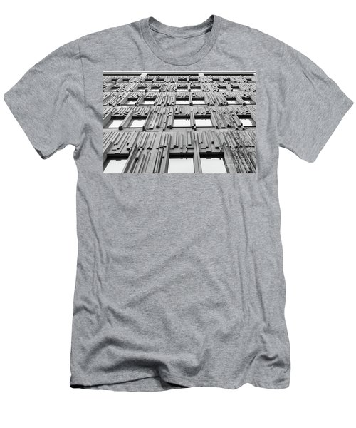 Vertical Lines Men's T-Shirt (Athletic Fit)