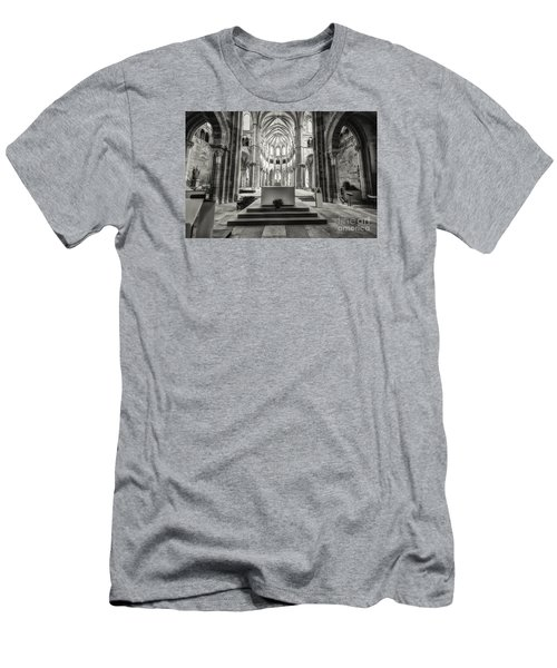 Men's T-Shirt (Slim Fit) featuring the photograph Vezelay Basilica France by Jack Torcello