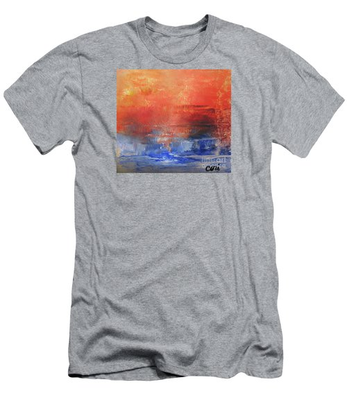 Vibrance Of Fall Men's T-Shirt (Athletic Fit)