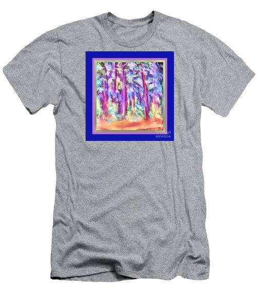 Vibrant Forest Men's T-Shirt (Athletic Fit)