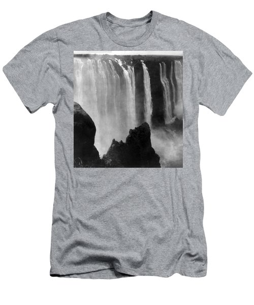 Victoria Falls - C 1911 Men's T-Shirt (Slim Fit) by International  Images