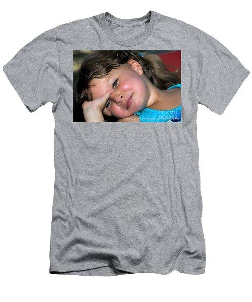 Victorias Smile Men's T-Shirt (Athletic Fit)