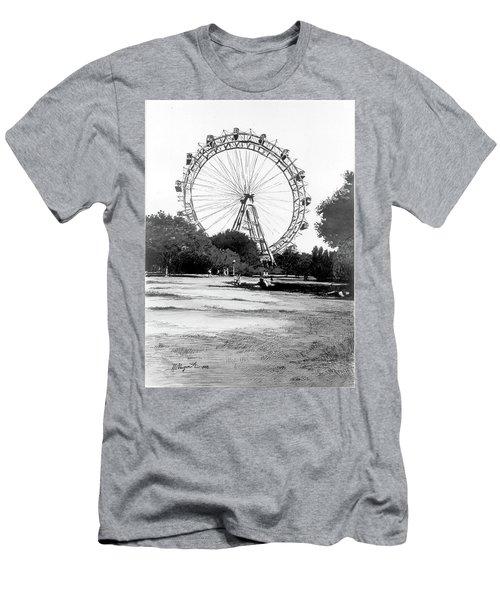 Viennese Giant Wheel Men's T-Shirt (Athletic Fit)
