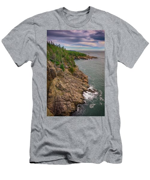Men's T-Shirt (Athletic Fit) featuring the photograph View From Gulliver's Hole by Rick Berk