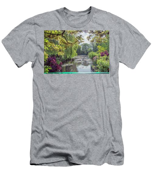 View From Monet's Bridge Men's T-Shirt (Athletic Fit)