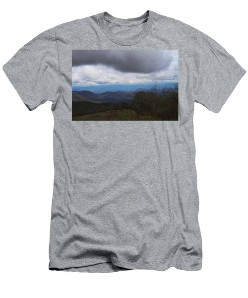 View From Silers Bald 2015b Men's T-Shirt (Athletic Fit)