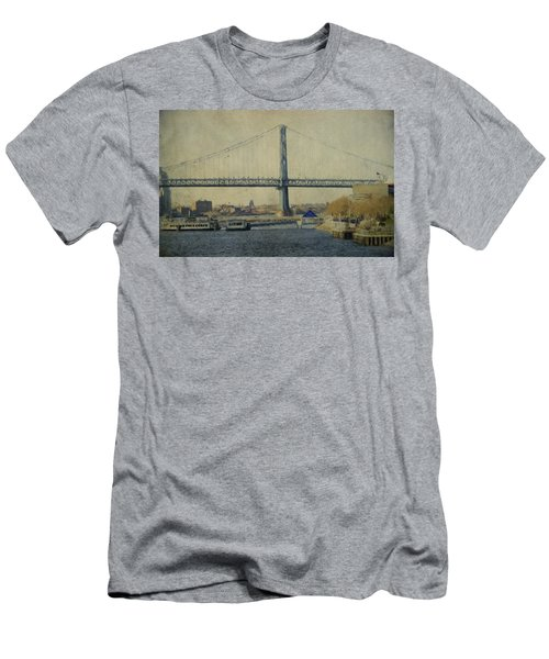 View From The Battleship Men's T-Shirt (Athletic Fit)