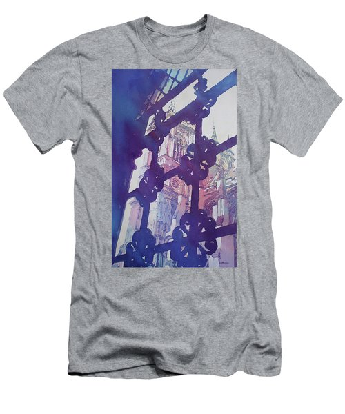 View From The Cloister Men's T-Shirt (Slim Fit) by Jenny Armitage