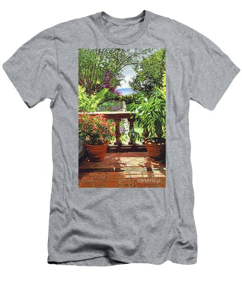 View From The Royal Garden Men's T-Shirt (Athletic Fit)