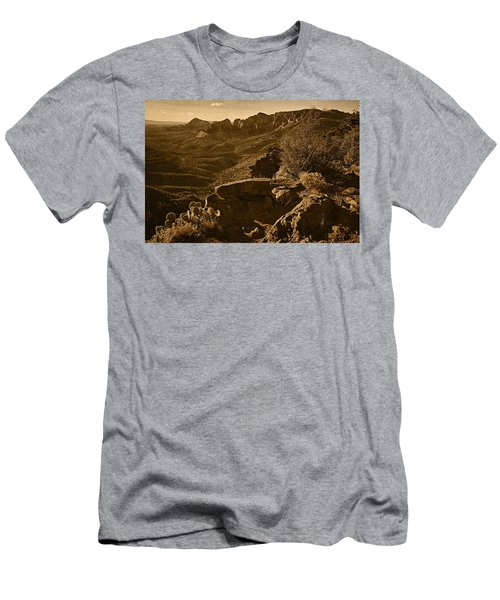 View From The Top Tnt Men's T-Shirt (Athletic Fit)