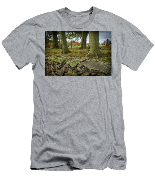 View Toward The Cemetery Men's T-Shirt (Athletic Fit)