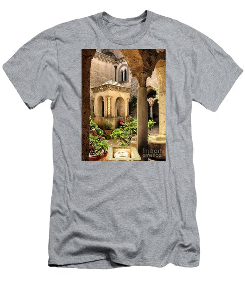 Villa Cimbrone. Ravello Men's T-Shirt (Slim Fit) by Jennie Breeze