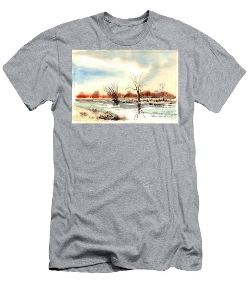 Village Scene II Men's T-Shirt (Athletic Fit)