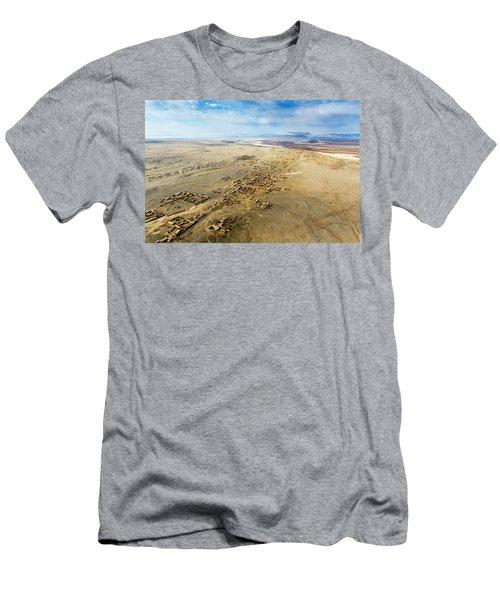 Village Toward Amu Darya River Men's T-Shirt (Athletic Fit)