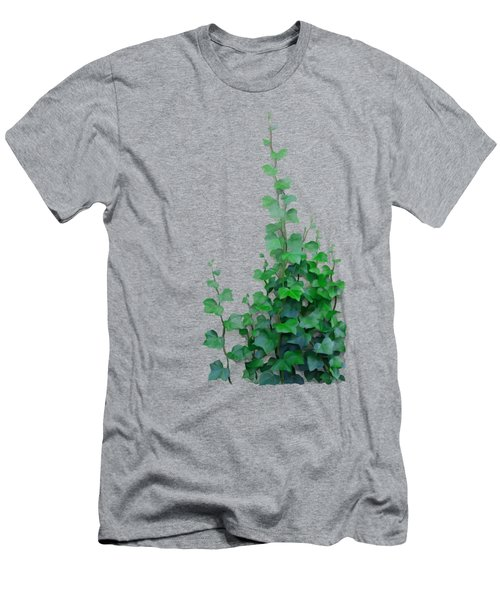 Men's T-Shirt (Athletic Fit) featuring the painting Vines By The Wall by Ivana
