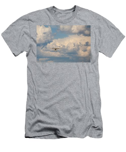 Men's T-Shirt (Athletic Fit) featuring the photograph Vintage Airplane by Fran Riley