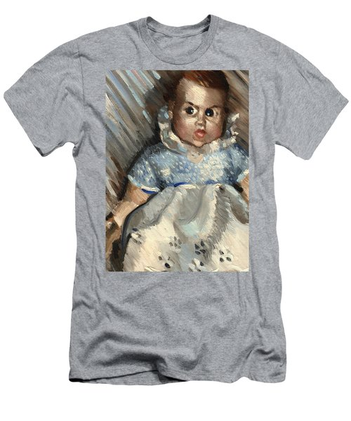 Vintage Baby Art Print Men's T-Shirt (Athletic Fit)