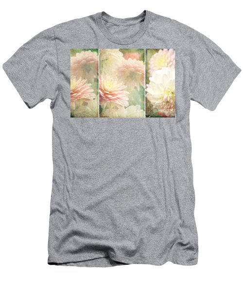 Vintage Dahlia Men's T-Shirt (Athletic Fit)
