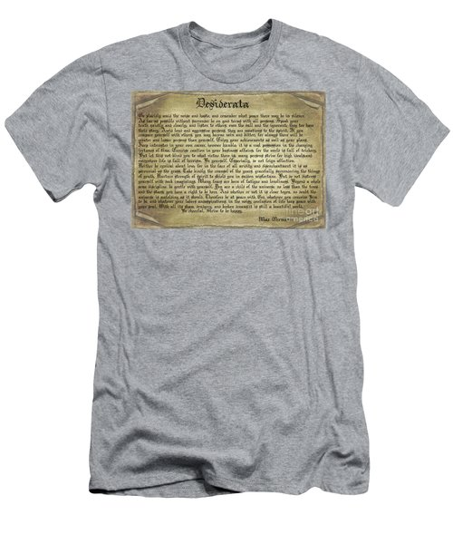 Vintage Desiderata Men's T-Shirt (Athletic Fit)