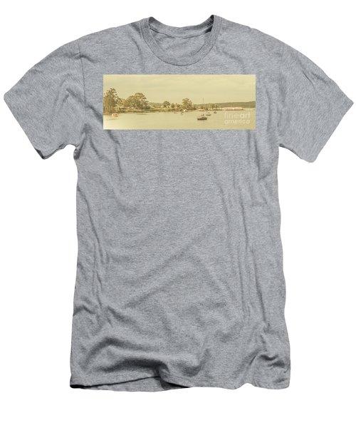 Vintage Dover Harbour Tasmania Men's T-Shirt (Athletic Fit)