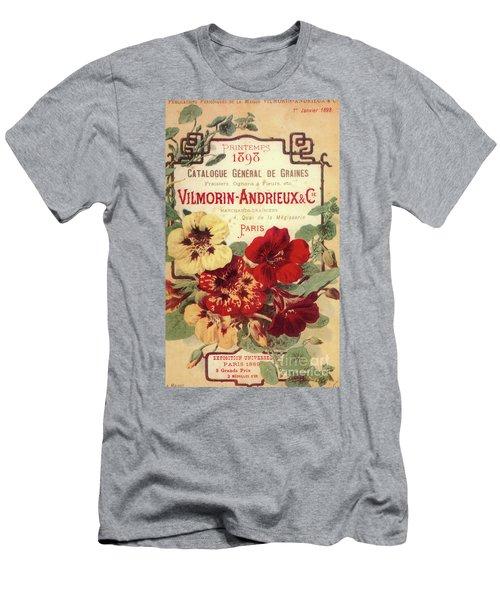 Vintage Flower Seed Cover Paris Rare Men's T-Shirt (Athletic Fit)