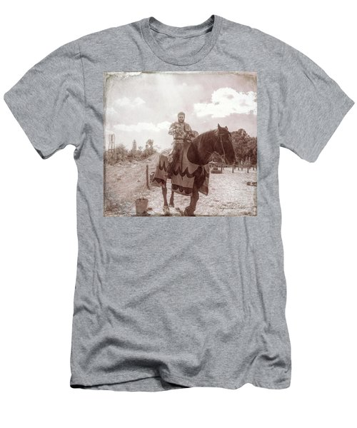 Vintage Knight Men's T-Shirt (Athletic Fit)