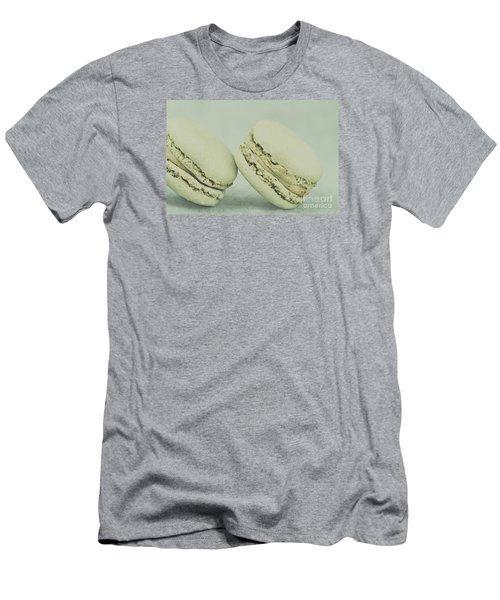 Vintage  Pistachio Macarons Men's T-Shirt (Athletic Fit)