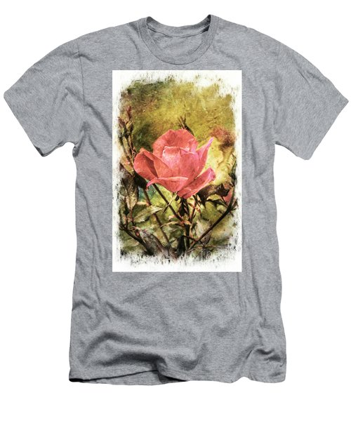 Vintage Rose Men's T-Shirt (Athletic Fit)