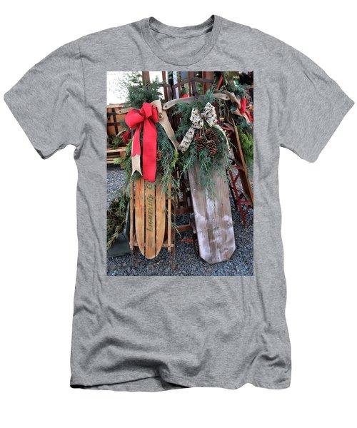Vintage Sleds Men's T-Shirt (Athletic Fit)