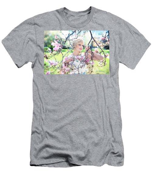 Vintage Val Magnolias Men's T-Shirt (Athletic Fit)