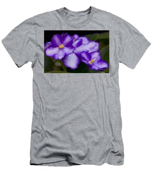 Violet Dreams Men's T-Shirt (Athletic Fit)