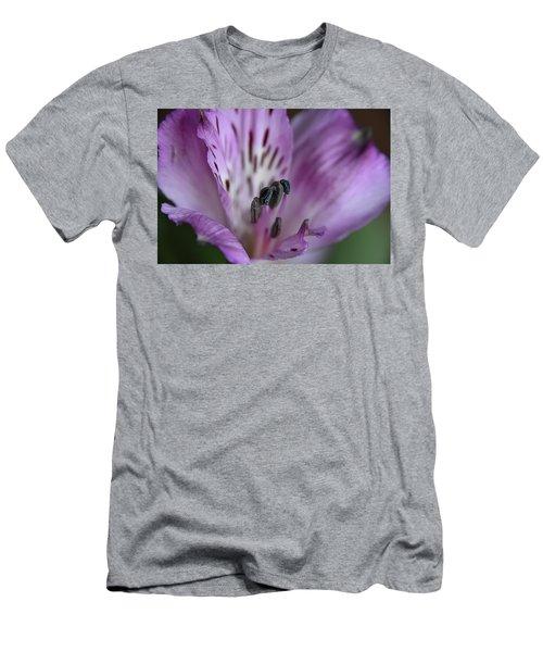 Violet Men's T-Shirt (Athletic Fit)