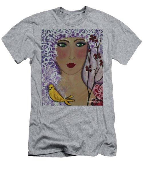 Violet Queen Men's T-Shirt (Athletic Fit)