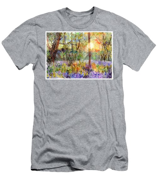 Violet Sunrise Men's T-Shirt (Athletic Fit)