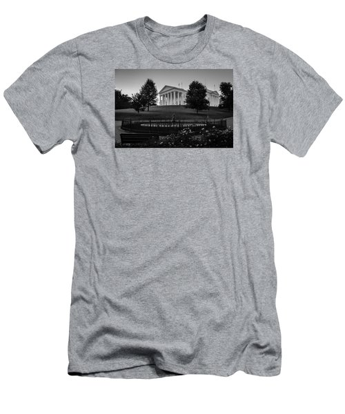 Virginia State Capitol Men's T-Shirt (Athletic Fit)