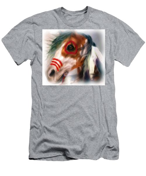 Visionary War Horse Men's T-Shirt (Athletic Fit)