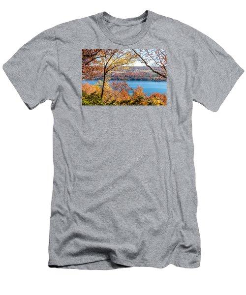 Vista From Garrett Chapel Men's T-Shirt (Slim Fit) by William Norton