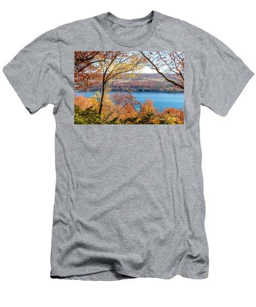 Vista From Garrett Chapel Men's T-Shirt (Athletic Fit)