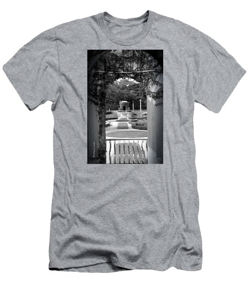 Vizcaya Garden Men's T-Shirt (Athletic Fit)
