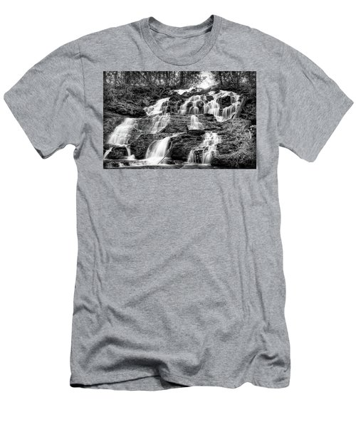 Vogel State Park Waterfall Men's T-Shirt (Athletic Fit)