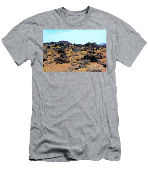 Volcanic Field Men's T-Shirt (Athletic Fit)