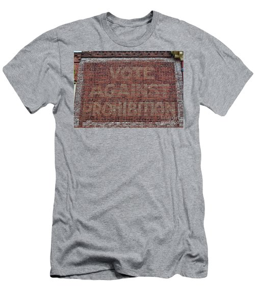 Vote Against Prohibition 2 Men's T-Shirt (Slim Fit) by Paul Ward
