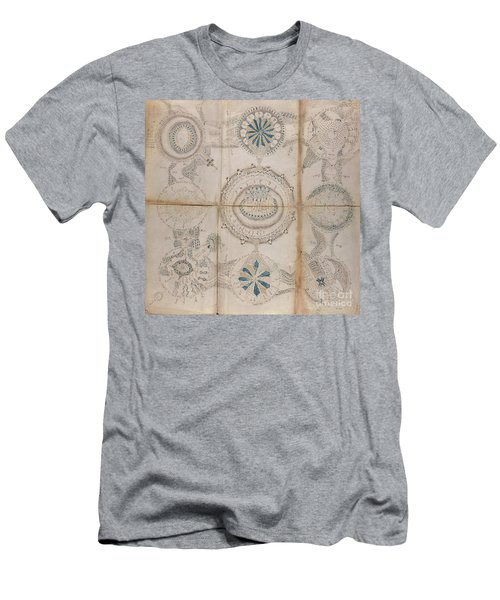 Voynich Astro 3x3 Men's T-Shirt (Athletic Fit)